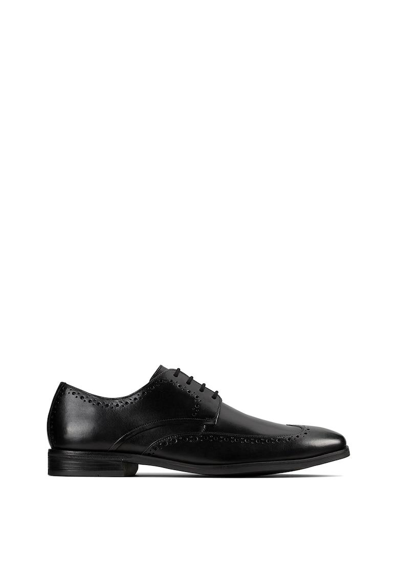 Clarks Pantofi de piele Stanford Limit