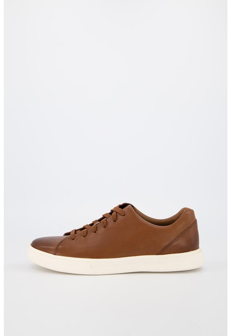 Pantofi sport de piele intoarsa cu garnitura contrastanta Menton 2