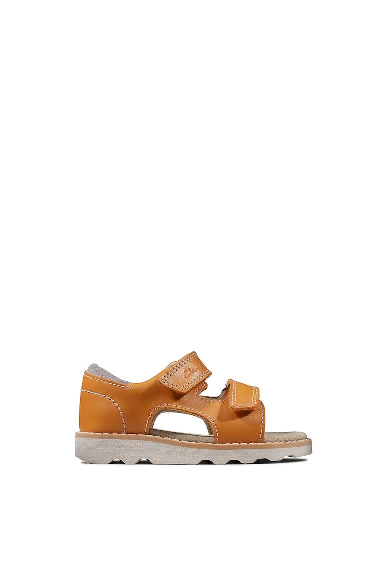 Sandale de piele cu velcro Crown Root imagine