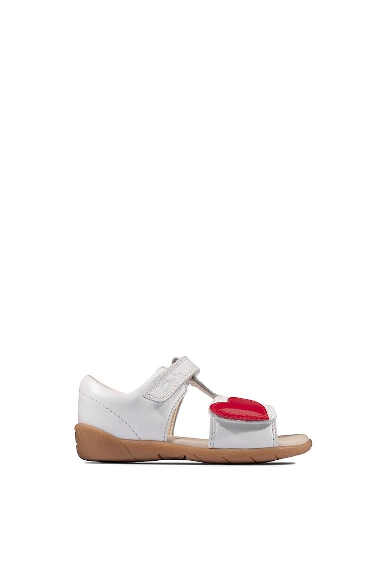 Sandale de piele cu velcro Zora Rain