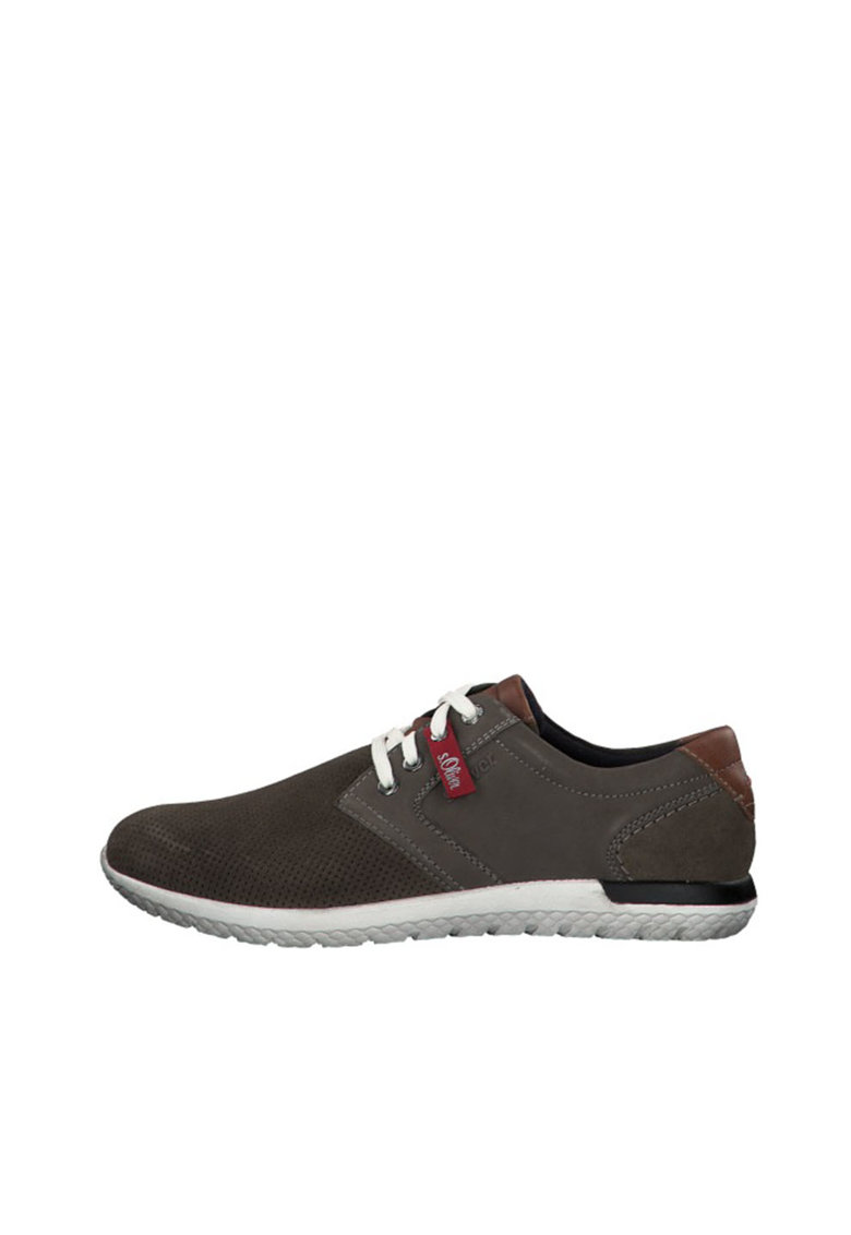 Pantofi de piele intoarsa si piele ecologica s.Oliver fashiondays.ro
