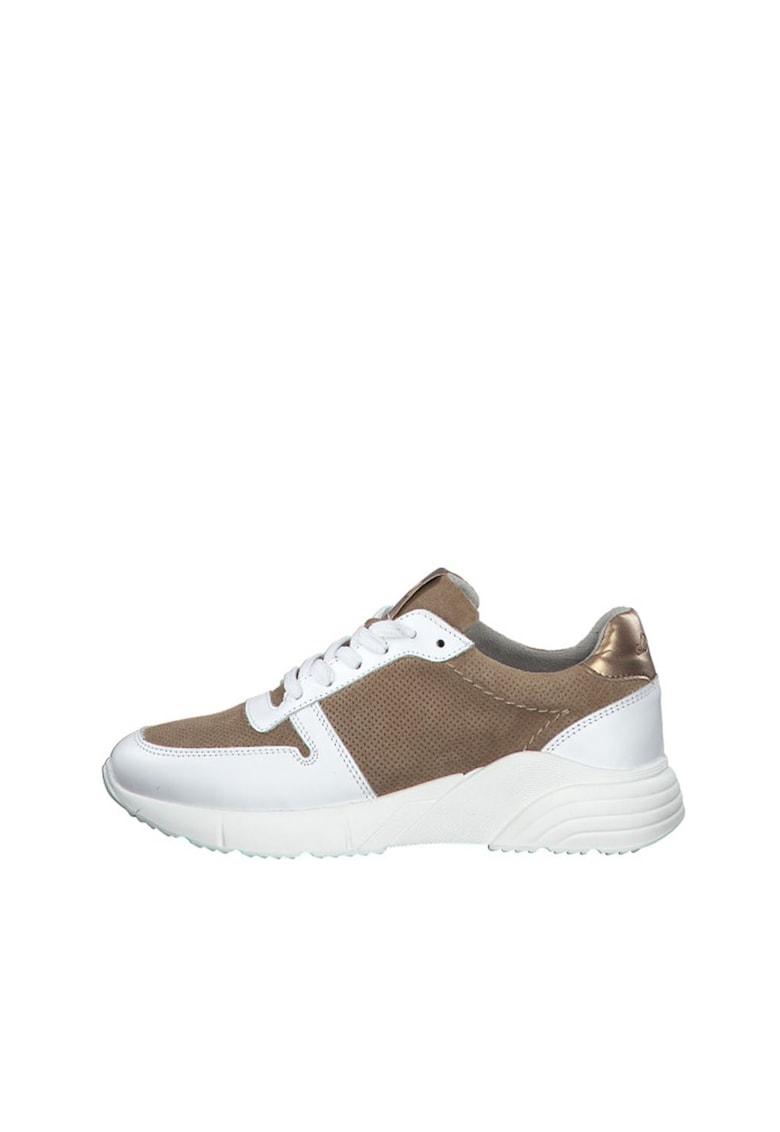 Pantofi sport cu model colorblock si perforatii s.Oliver fashiondays.ro