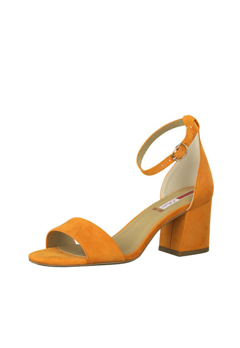 Sandale de piele intoarsa ecologica poza fashiondays