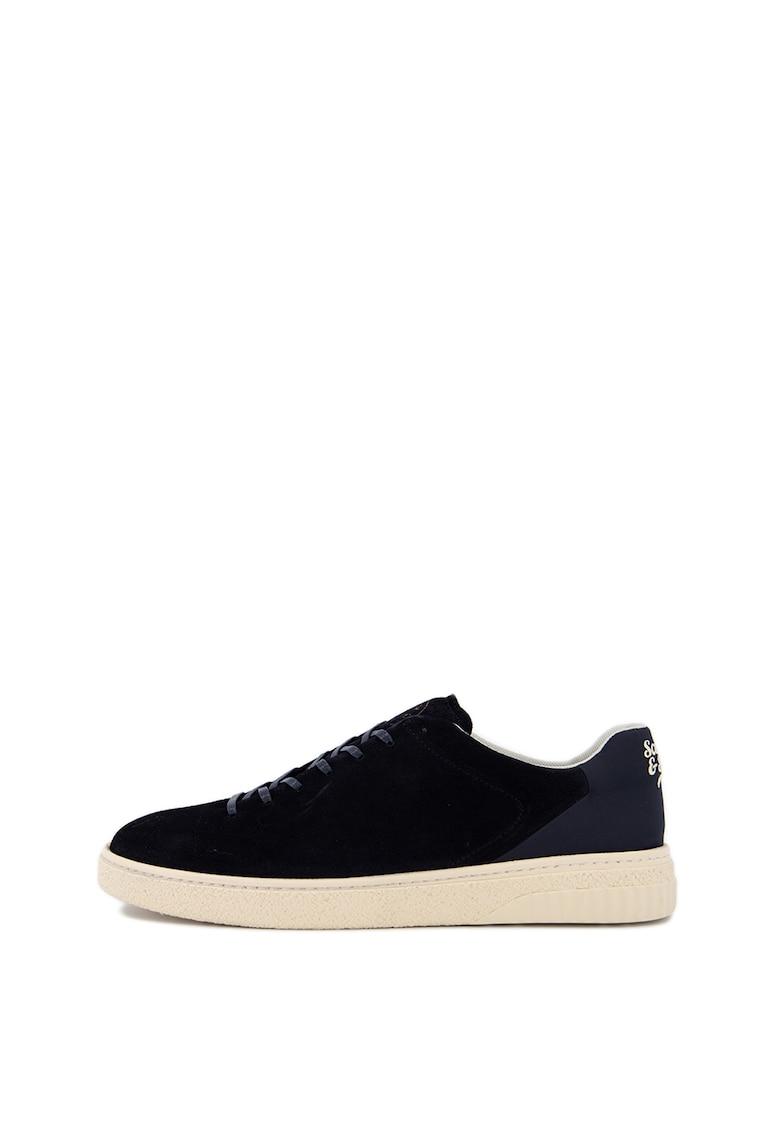 Pantofi sport din piele intoarsa cu garnituri din material textil Brilliant 1