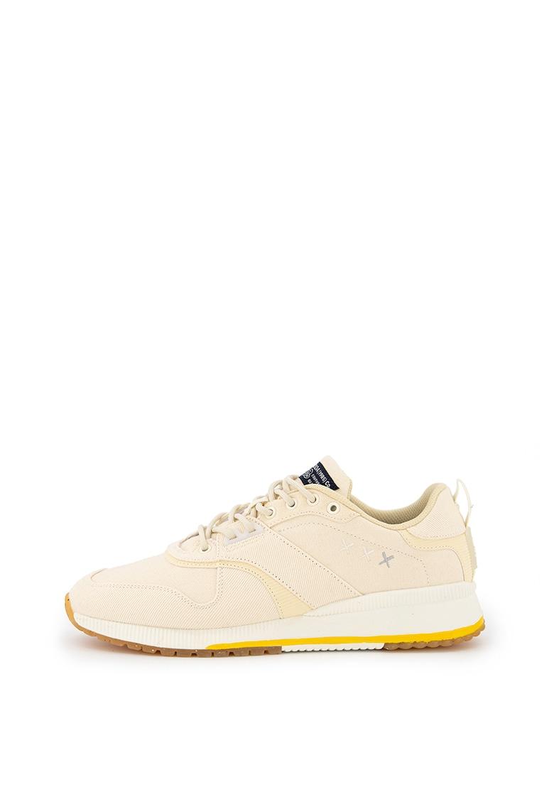 Pantofi sport de panza - cu garnituri striate Vivex