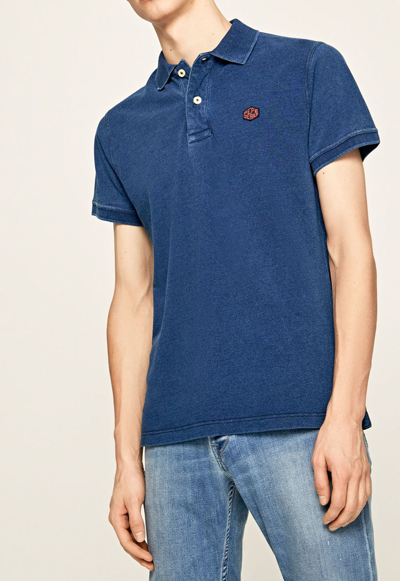 Tricou polo regular fit Gordon