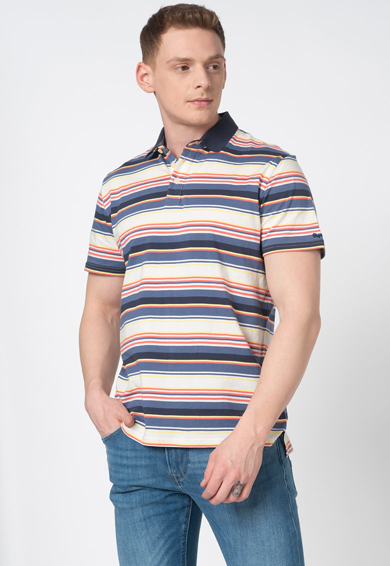 Tricou polo regular fit Lucius