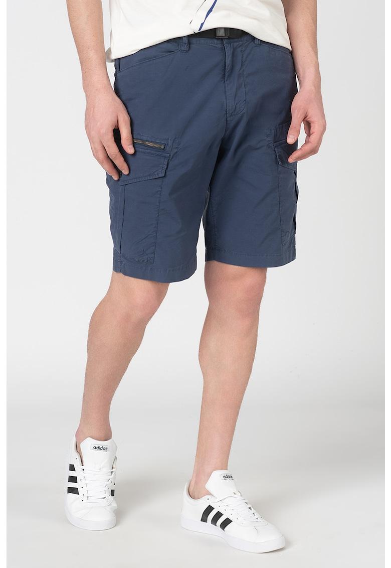 Pantaloni scurti cargo regular fit cu snur Expedit