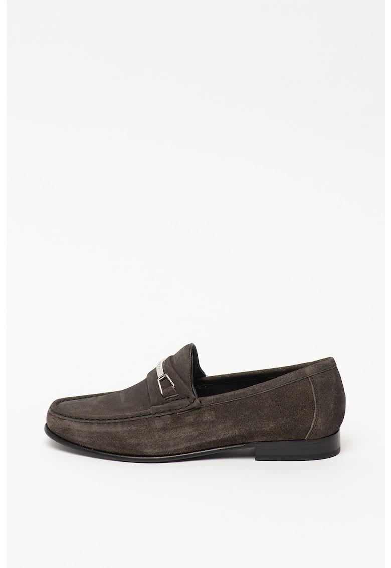 Pantofi sport de piele nabuc Camberwell 2