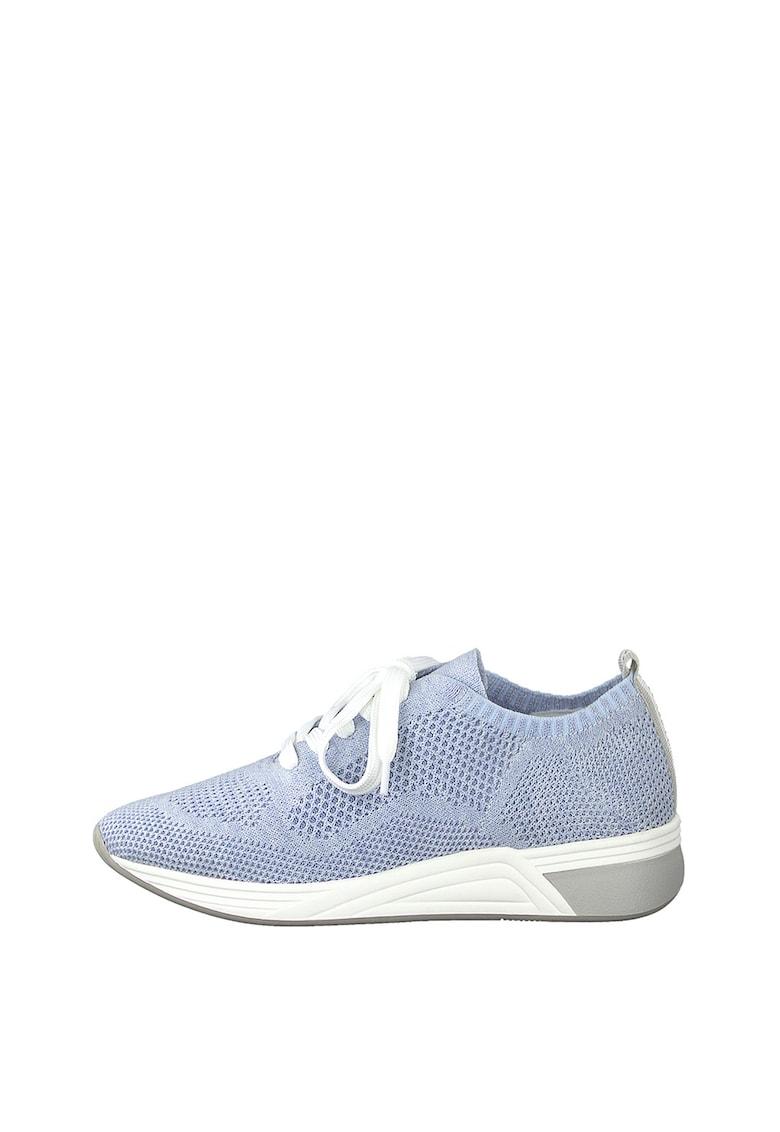 Pantofi sport de plasa cu sireturi