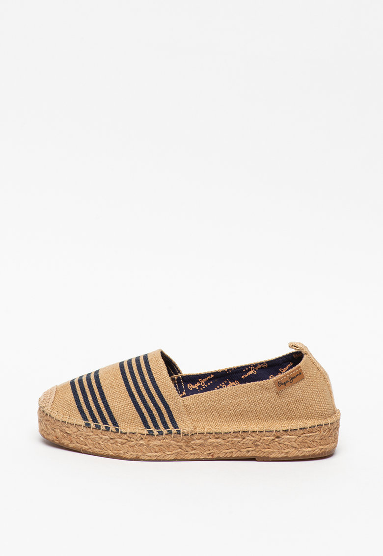 Espadrile cu model in dungi Liss