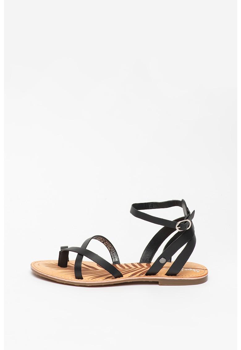 Sandale de piele March Basic