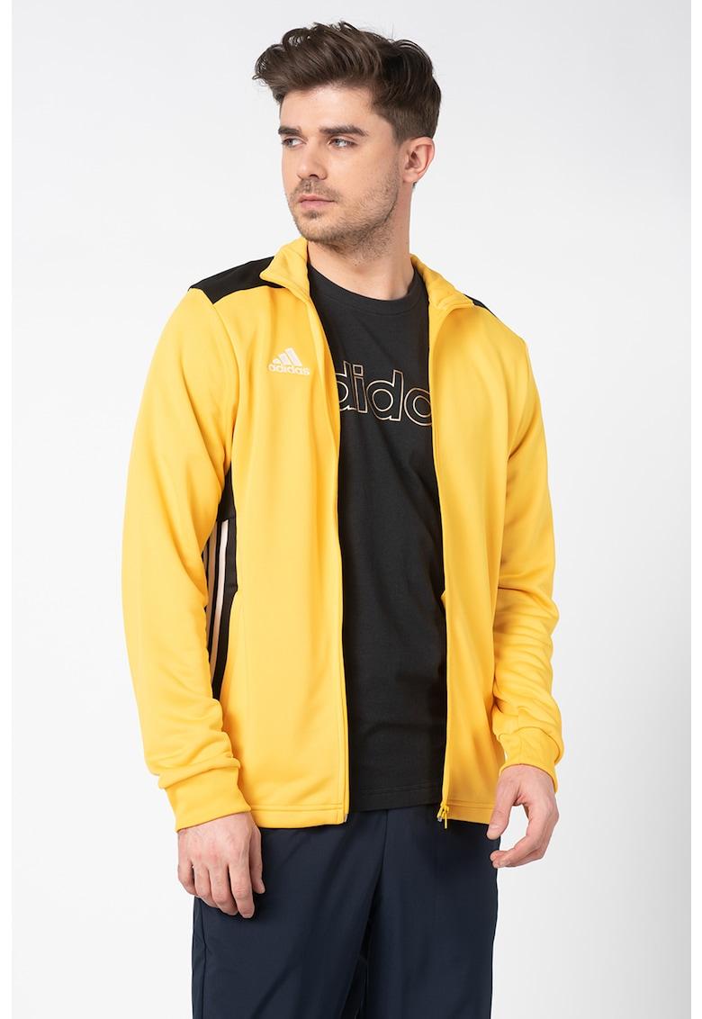Jacheta cu fermoar si garnituri contrastante - pentru fotbal imagine