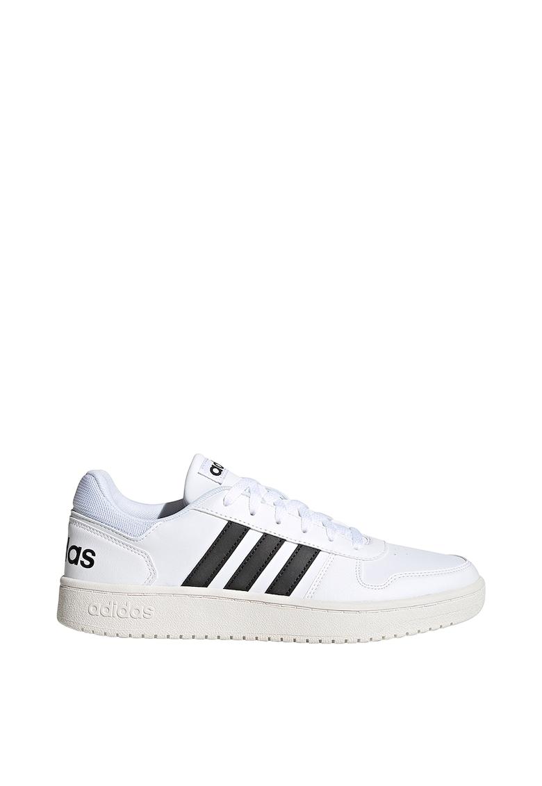 Pantofi sport de piele ecologica Hoops 2.0 1