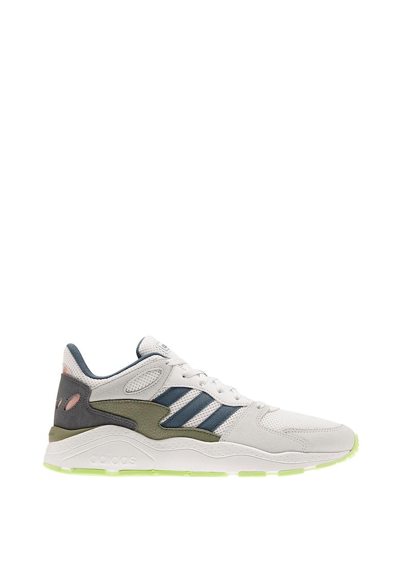 Pantofi sport cu insertii din piele intoarsa CrazyChaos imagine
