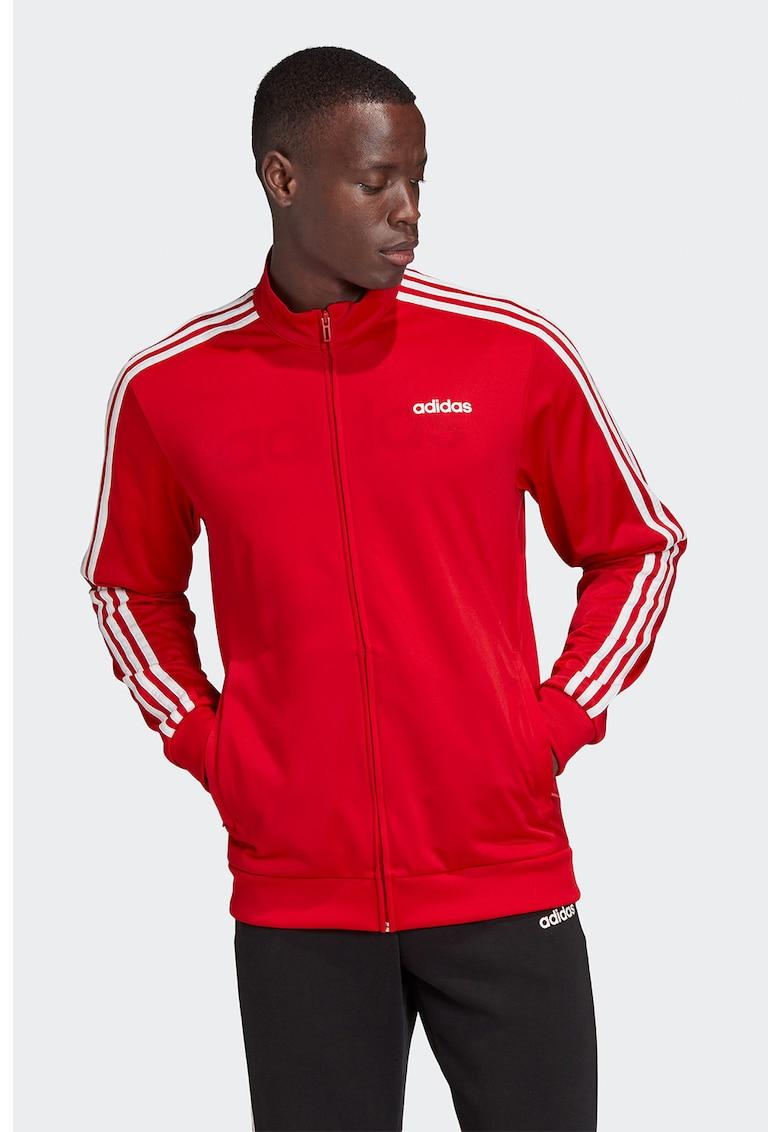Bluza sport cu fermoar - pentru fitness 3 Stripes adidas Performance fashiondays.ro