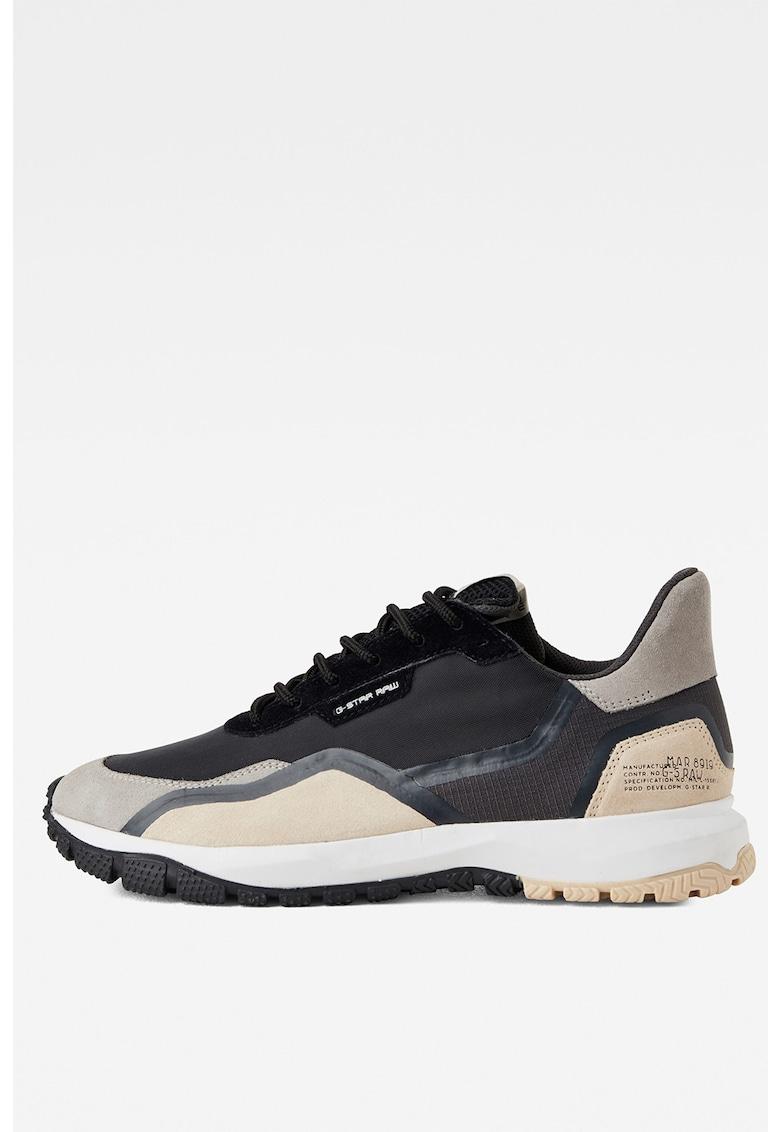 Pantofi sport cu garnituri din piele intoarsa D16808-C253 imagine