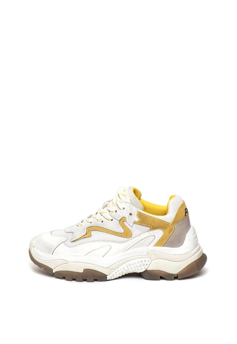Pantofi sport cu model contrastant Addict