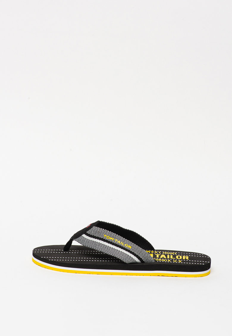 Papuci flip-flop de panza - cu dungi imagine fashiondays.ro
