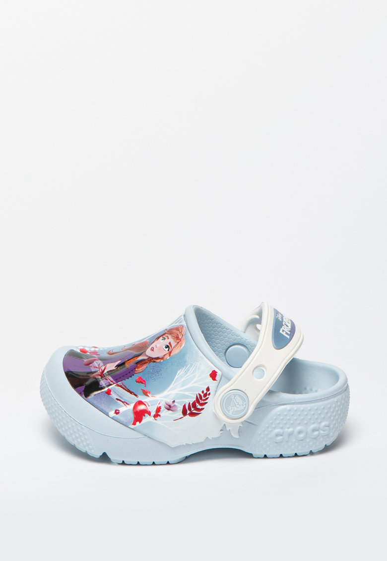Papuci Crocs cu bareta slingback Frozen imagine