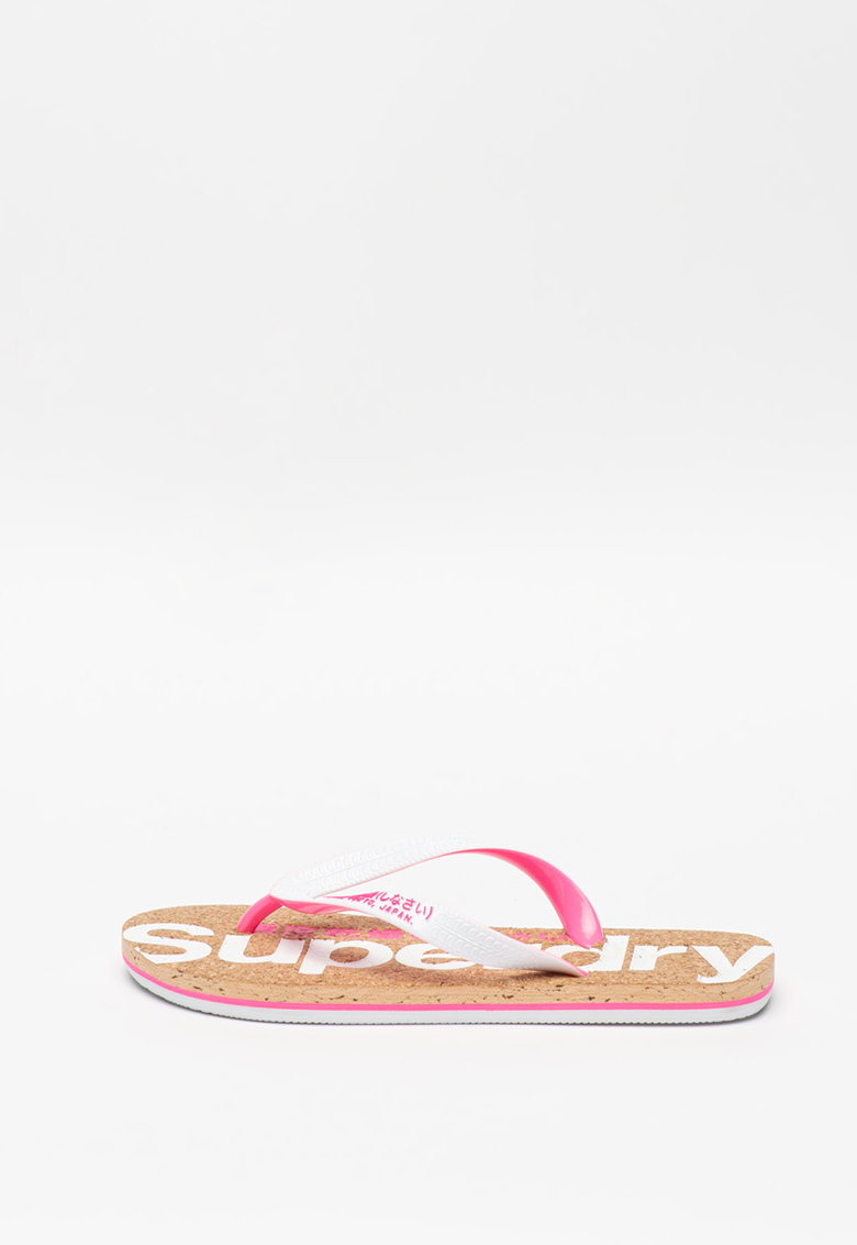 Papuci flip-flop cu talpa de pluta imagine