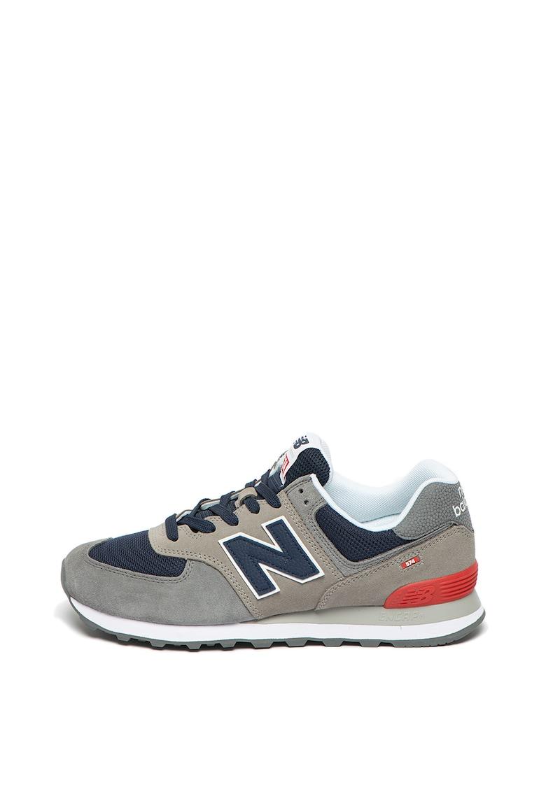 Pantofi sport de piele cu accente contrastante Le Brook 3