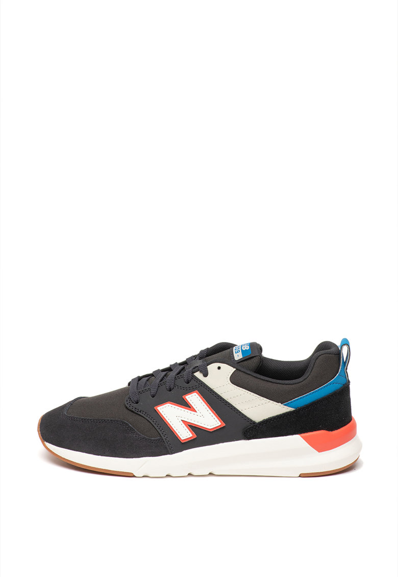Pantofi sport cu model colorblock 009 imagine