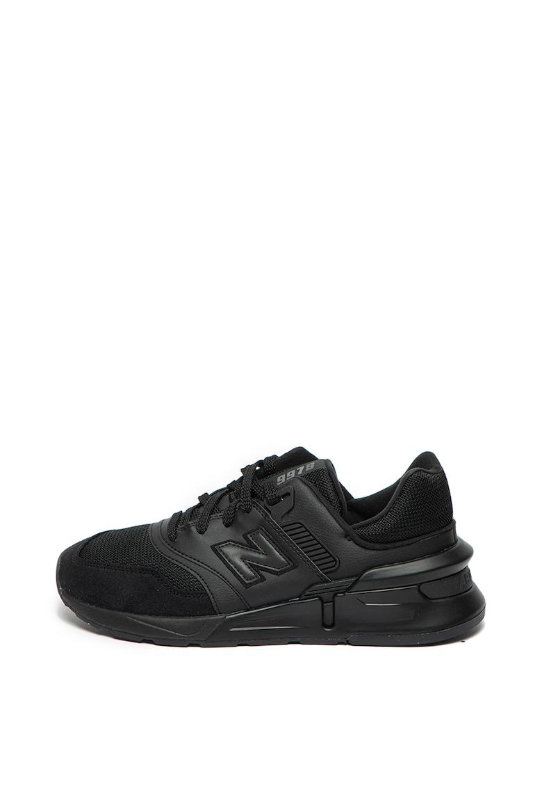 Pantofi sport cu garnituri de piele 997S 1