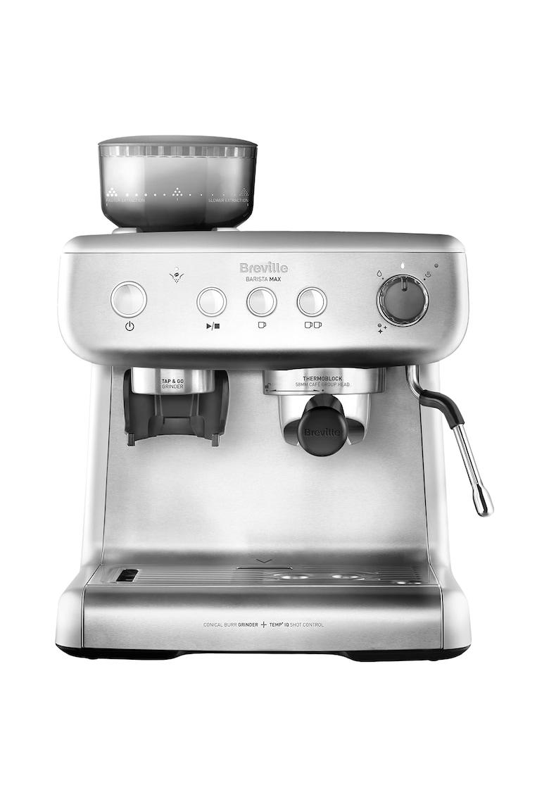 Breville Espressor manual  Barista Max  - 15 bari - 2.8 l - Recipient detasabil lapte 0.46 l - Silver