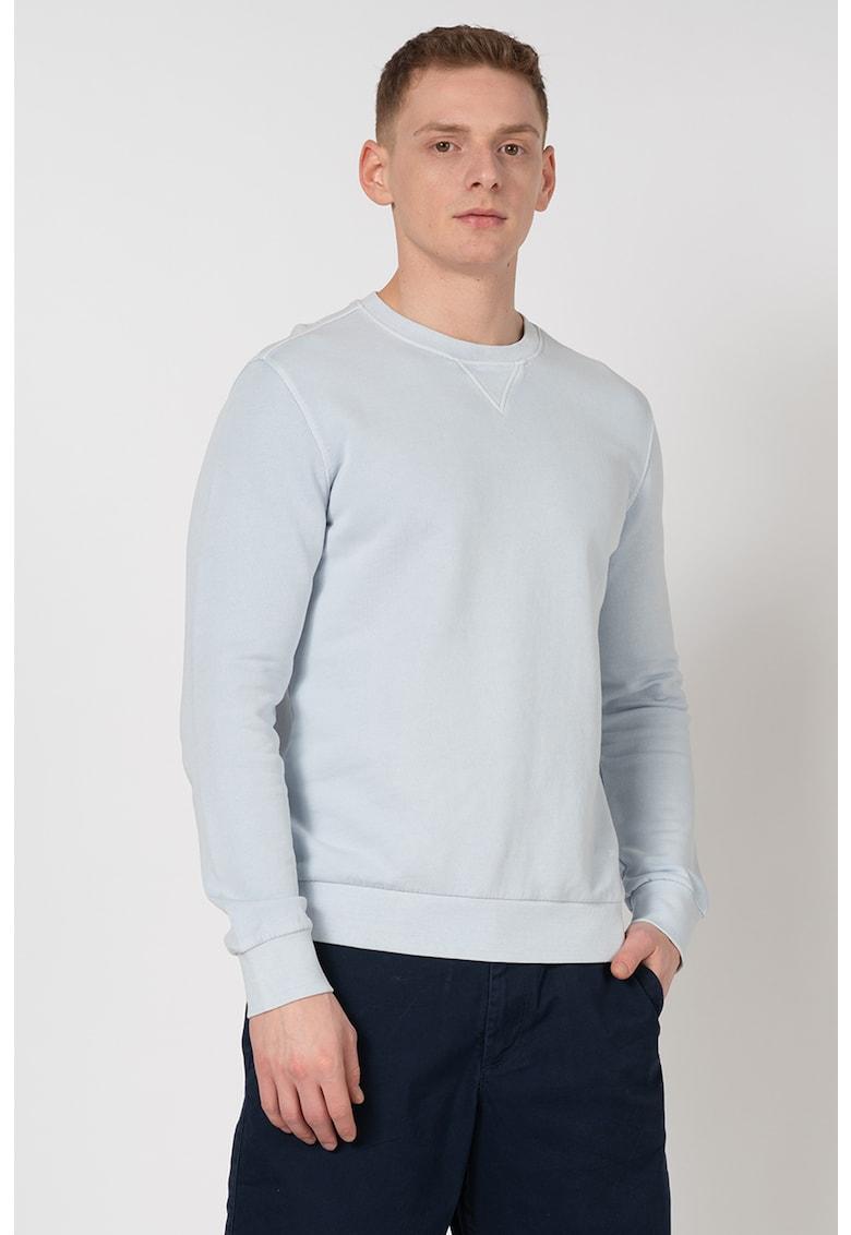 Bluza sport regular fit din bumbac organic - cu decolteu la baza gatului