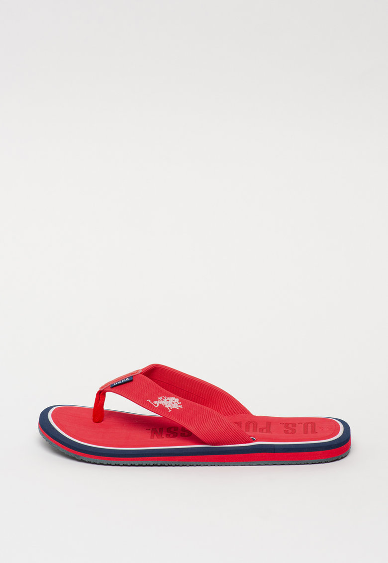 Papuci cu bareta separatoare Vitus imagine fashiondays.ro U.S. Polo Assn.