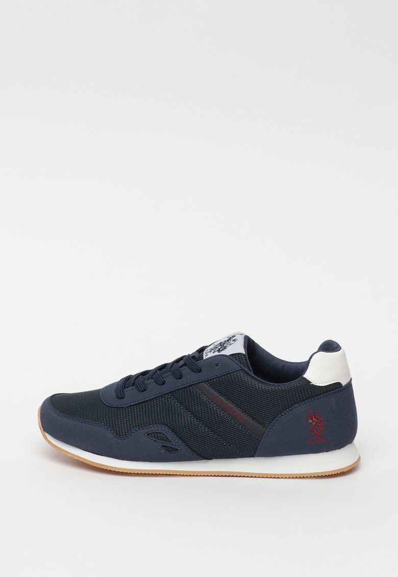 Pantofi sport cu insertii de panza Andrew