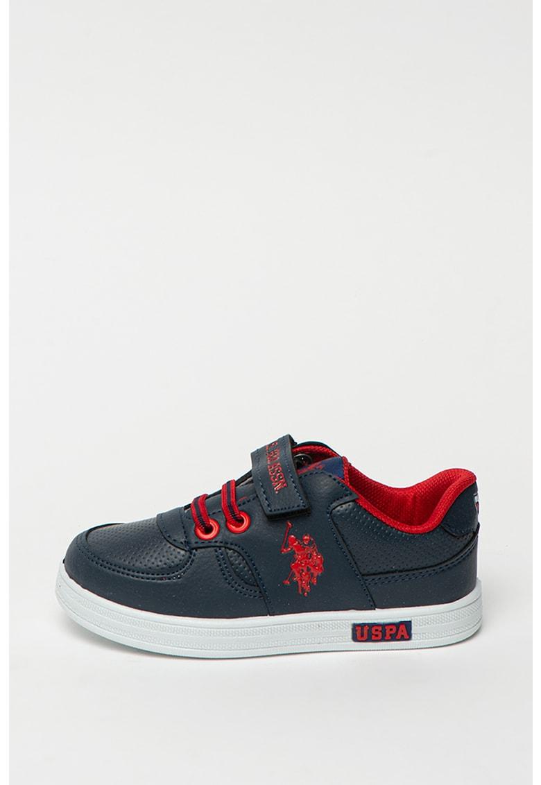 Pantofi sport de piele ecologica Cameron