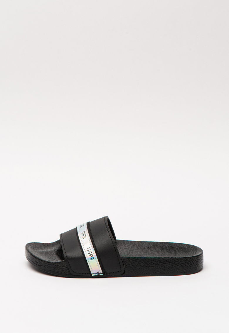 Papuci cu logo Neat