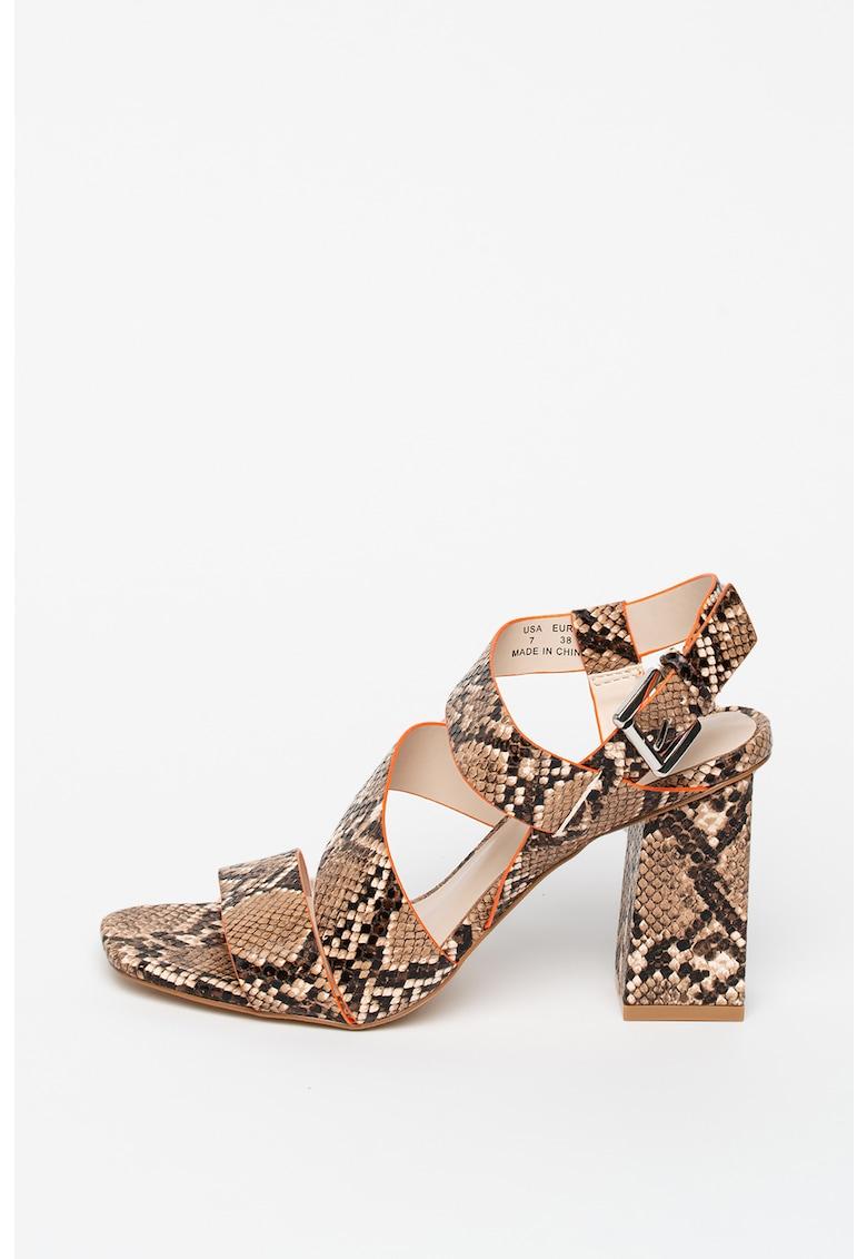 Sandale din piele ecologica Barlena