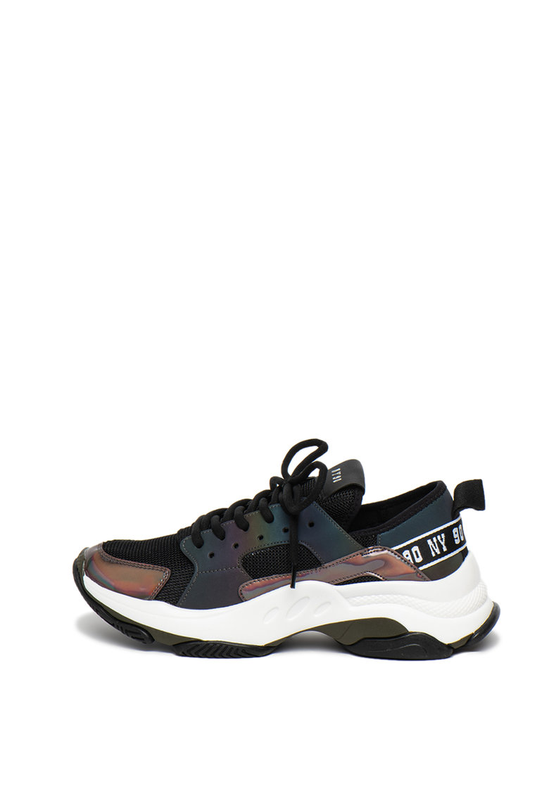 Pantofi sport cu talpa masiva si garnituri cu irizatii Ajax