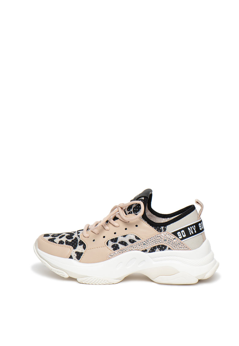 Pantofi sport cu talpa masiva si accente cu strasuri Ajax