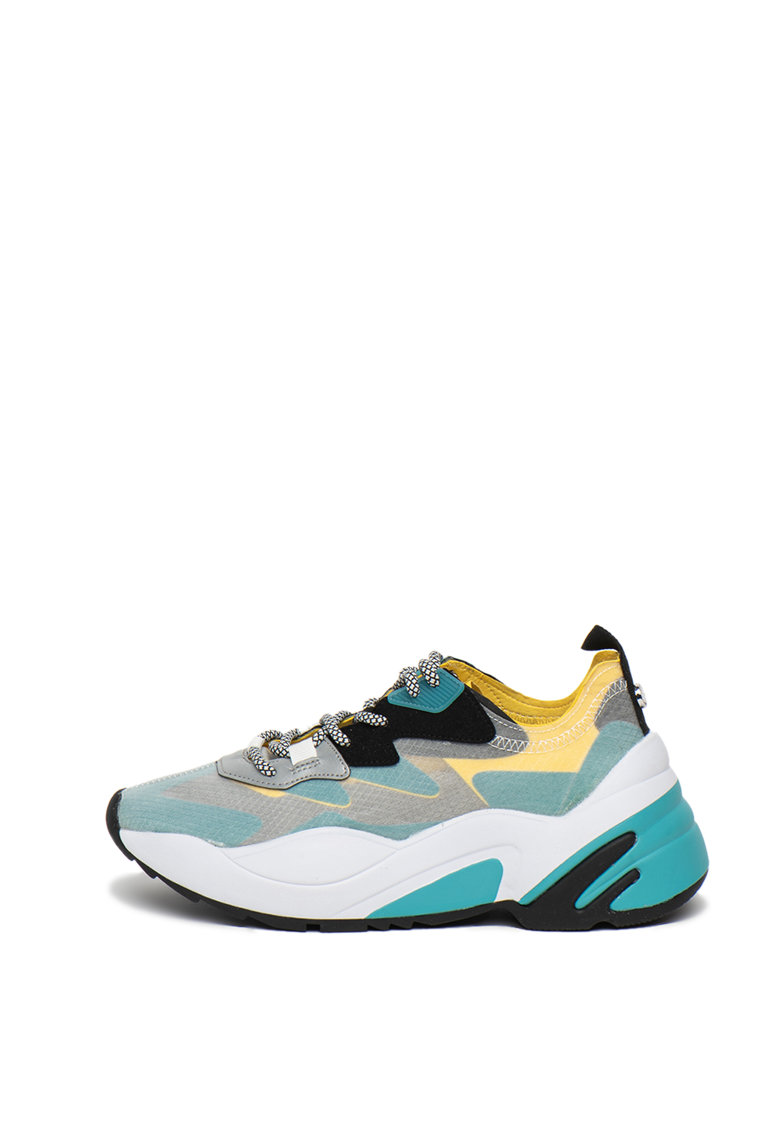 Pantofi sport cu model colorblock Charged