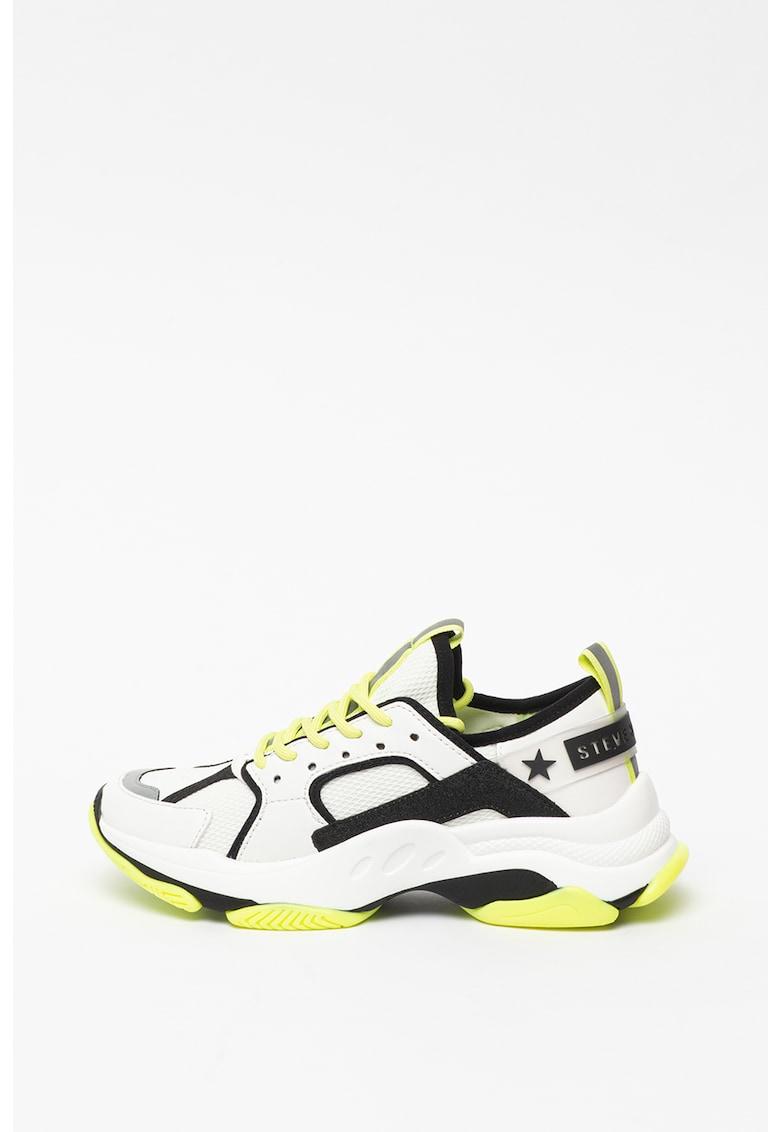 Pantofi sport din piele ecologica si plasa Gradually