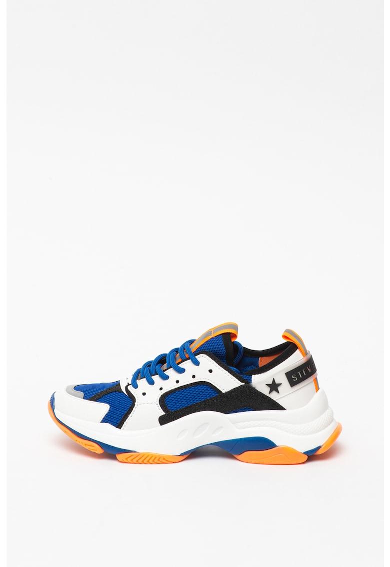Pantofi sport cu garnituri din piele ecologica Gradually