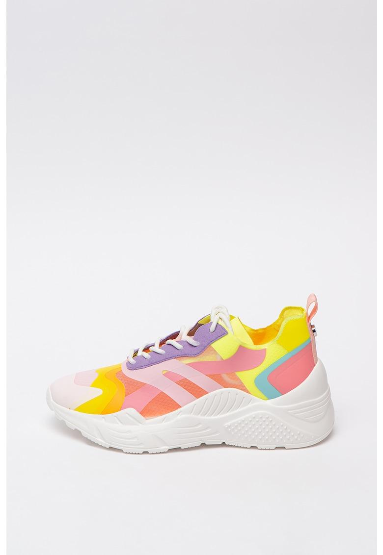 Pantofi sport cu talpa wedge Ashen