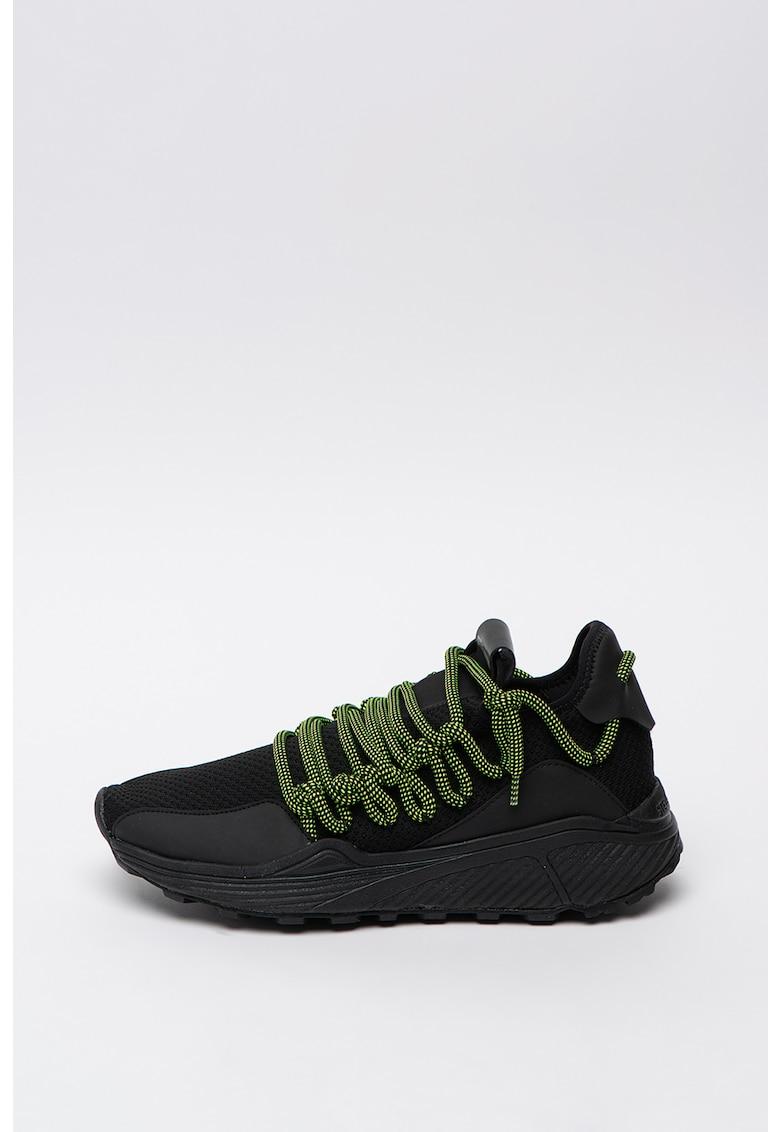 Pantofi sport din plasa cu sireturi contrastante Solatice