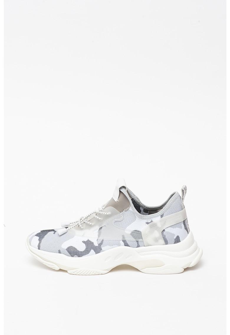 Pantofi sport slip-on din panza cu imprimeu camuflaj Isles
