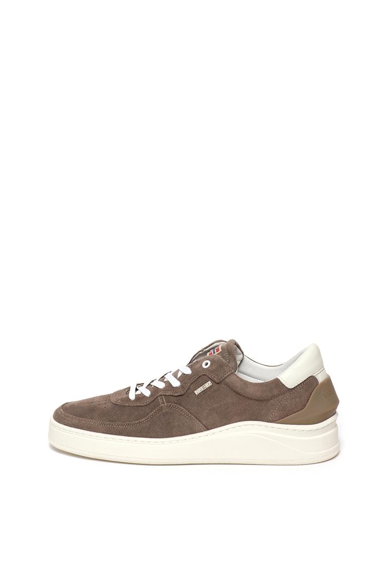 Pantofi sport de piele intoarsa