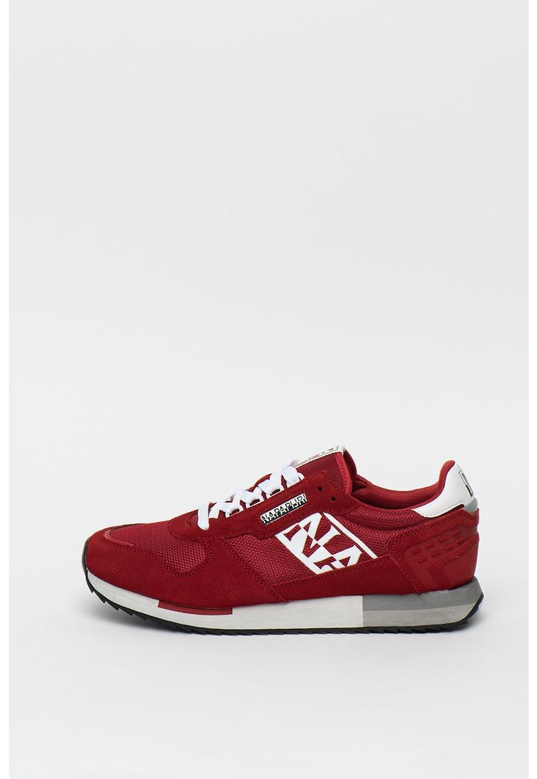 Pantofi sport cu insertii de piele intoarsa Virtus imagine