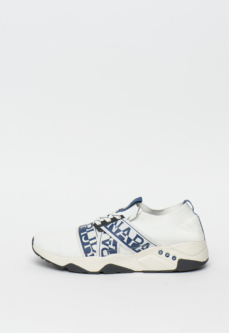 Pantofi sport slip-on cu benzi elastice cu logo Lake 1