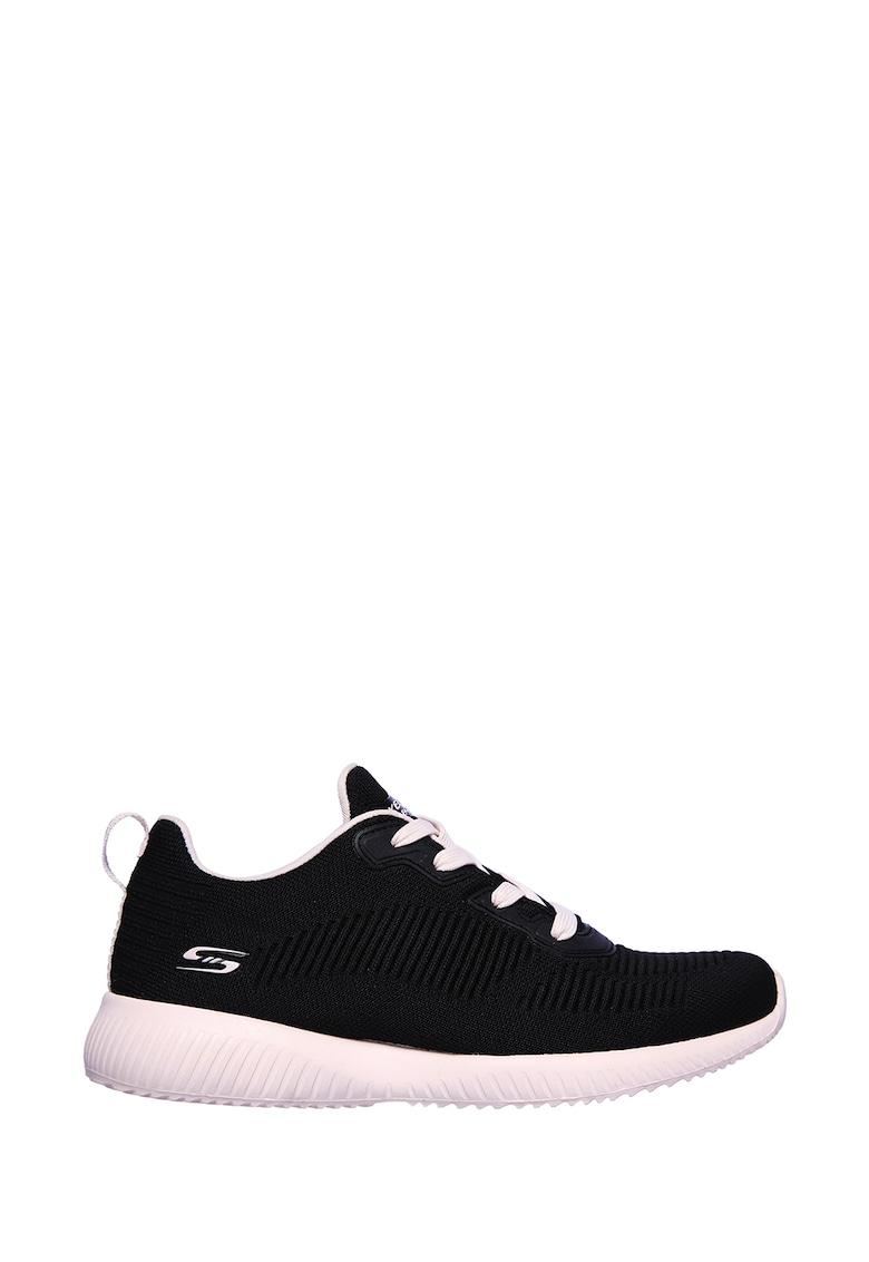 Pantofi sport din material textil si tricot Bobs Squad-Summer Haze