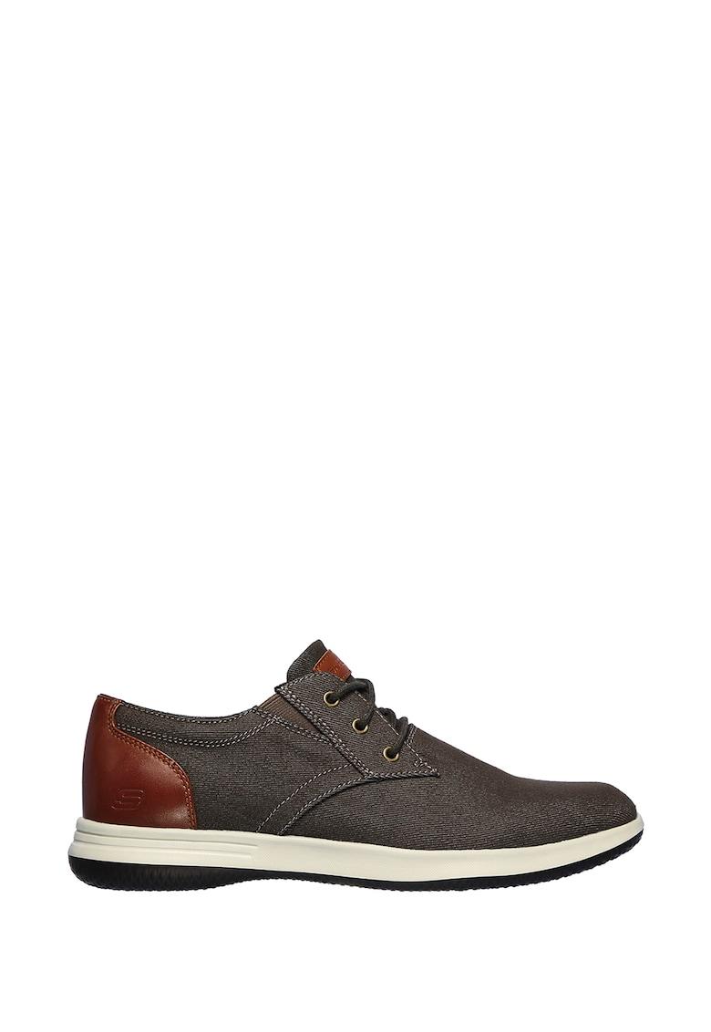 Pantofi sport cu insertii de piele D'Lux Walker 2