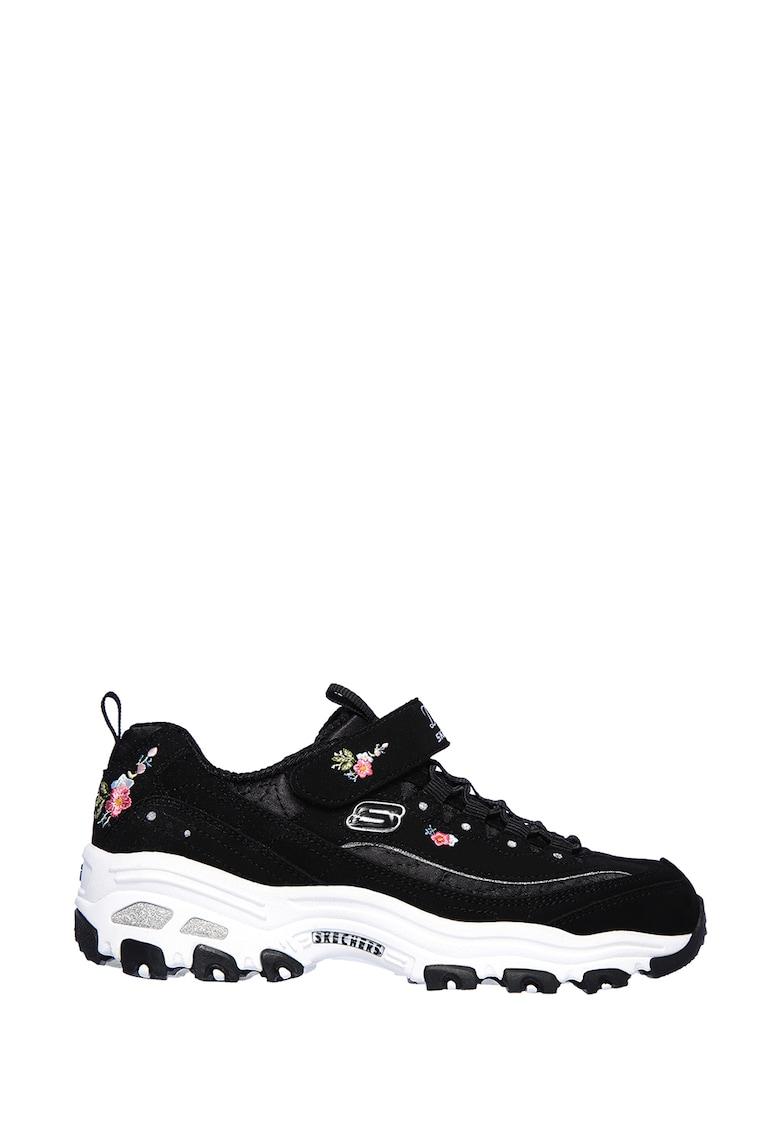 Skechers Pantofi sport cu aspect masiv D'Lites Lil Blossom