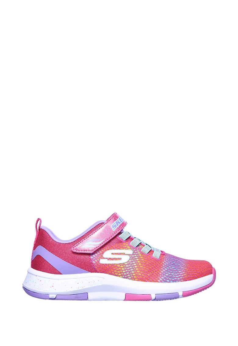 Pantofi sport cu sireturi elastice si inchidere velcro Trainer Lite 2.0